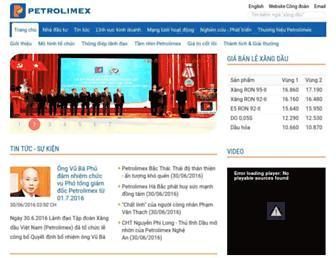 Thumbshot of Petrolimex.com.vn