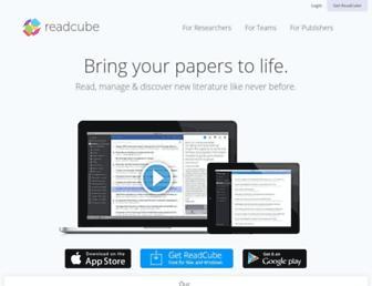 readcube.com screenshot