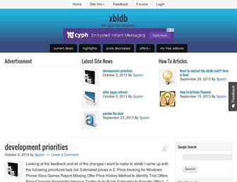 Thumbshot of Xbldb.com