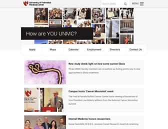unmc.edu screenshot