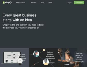 Thumbshot of Shopify.com