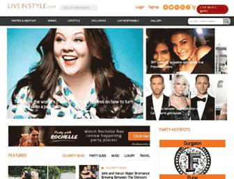 Thumbshot of Liveinstyle.com