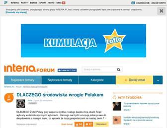 forum.interia.pl screenshot