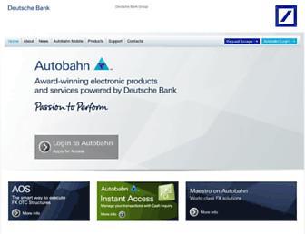 autobahn.db.com screenshot
