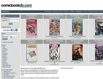 Thumbshot of Comicbookdb.com