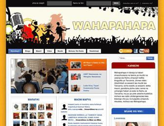 wahapahapa.com screenshot