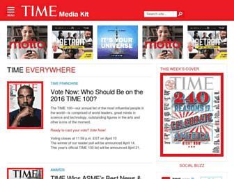 Thumbshot of Timemediakit.com