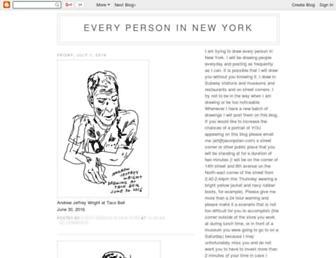 everypersoninnewyork.blogspot.com screenshot