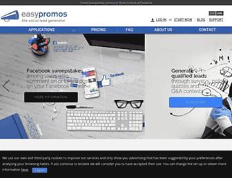 easypromosapp.com screenshot