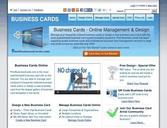 printbusinesscards.com screenshot