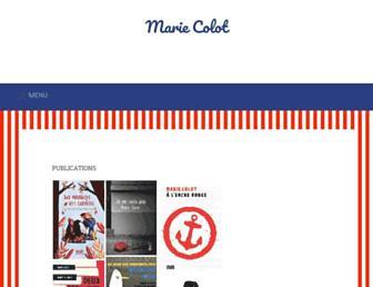 mariecolot.com screenshot