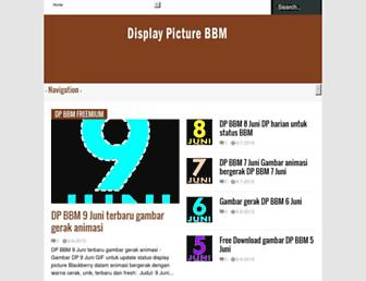 displaypicturebbm.blogspot.com screenshot