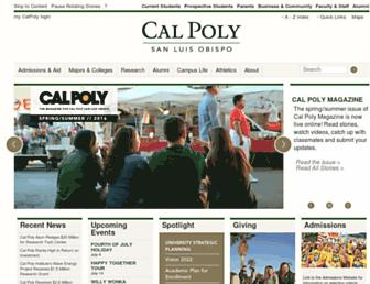 Thumbshot of Calpoly.edu