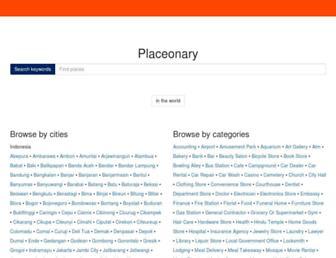 placeonary.com screenshot