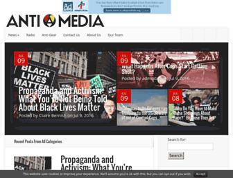 Thumbshot of Theantimedia.org