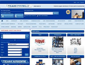 team.ie screenshot