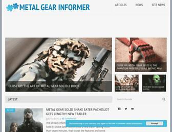 Thumbshot of Metalgearinformer.com