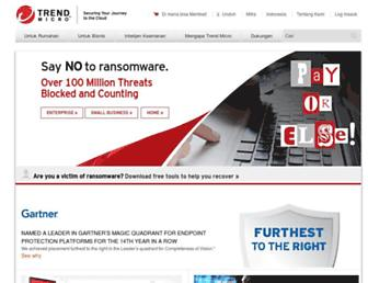 trendmicro.co.id screenshot
