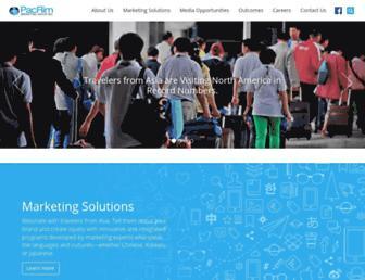pacrimmarketing.com screenshot