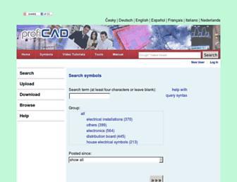 gallery.proficad.eu screenshot