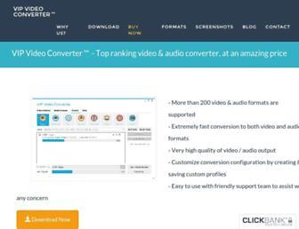 vip-video-converter.com screenshot
