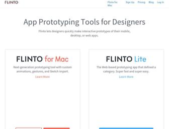 flinto.com screenshot