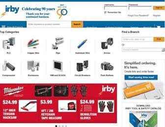 irby.com screenshot