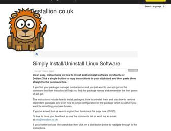 installion.co.uk screenshot