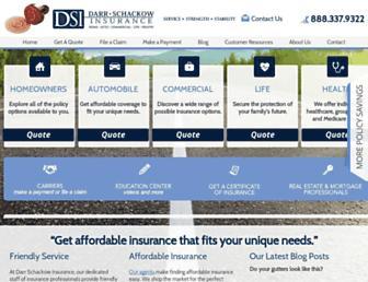 darrschackowinsurance.com screenshot