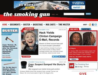 Thumbshot of Thesmokinggun.com