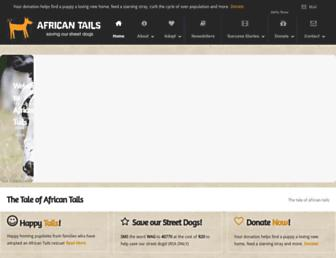 africantails.co.za screenshot