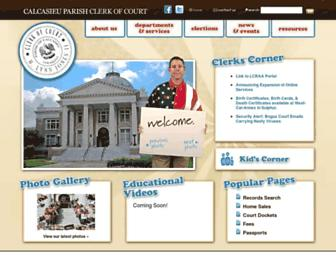 calclerkofcourt.com screenshot