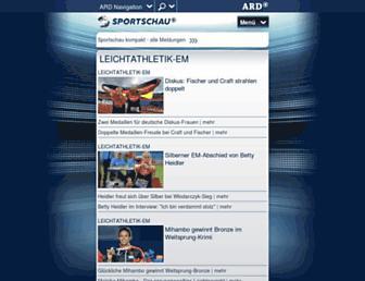 Thumbshot of Sportschau.de