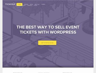 tickera.com screenshot