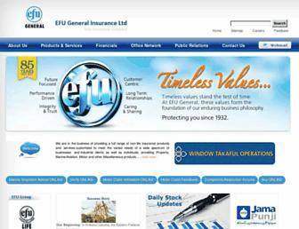 efuinsurance.com screenshot