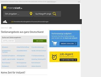 jobs.meinestadt.de screenshot