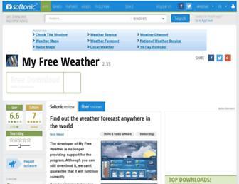 my-free-weather.en.softonic.com screenshot