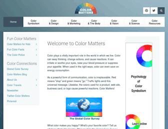 Thumbshot of Colormatters.com