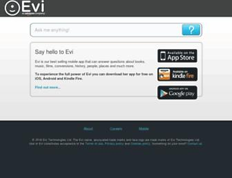 evi.com screenshot