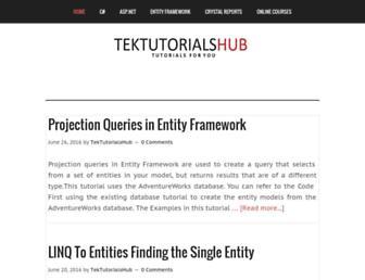 tektutorialshub.com screenshot