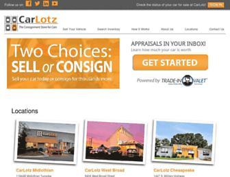 carlotz.com screenshot