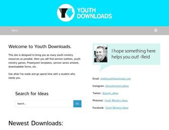youthdownloads.com screenshot