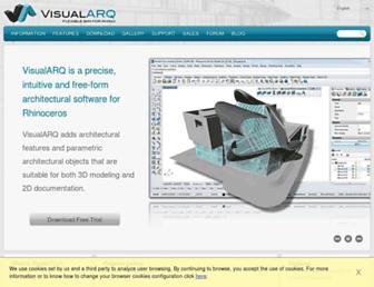 visualarq.com screenshot