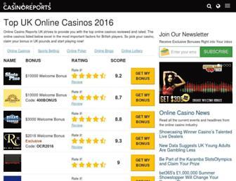 Thumbshot of Onlinecasinosreports.co.uk