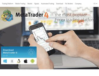 metatrader4.com screenshot