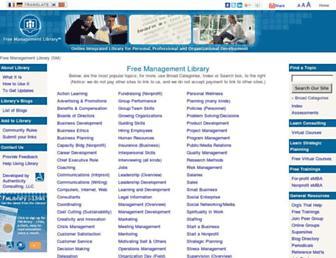managementhelp.org screenshot