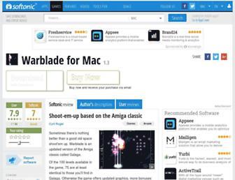 warblade-mac.en.softonic.com screenshot