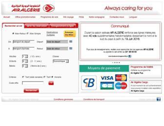 airalgerie.dz screenshot