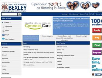 Thumbshot of Bexley.gov.uk