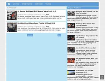 aliranmodif.blogspot.com screenshot
